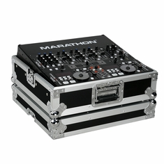 "MARATHON FLIGHT ROAD CASES MA-19MIX� 19"" DJ Mixer Case with 8 spaces with rack mount"