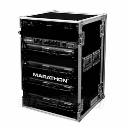 MARATHON FLIGHT ROAD CASES MA-20UAD 20U AMPLIFIER DELUXE CASE