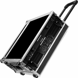 MARATHON FLIGHT ROAD CASES MA-3UADHW 3U AMPLIFIER DELUXE CASE