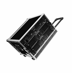 MARATHON FLIGHT ROAD CASES MA-6UADHW 6U AMPLIFIER DELUXE CASE
