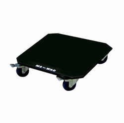 MARATHON FLIGHT ROAD CASES MA-WAD 3 1/2 INCH OPTIONAL CASTER KIT WITH BREAKS ON TWO FRONT WHEELS - ECONOMY VERSION