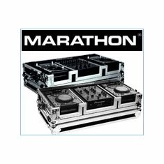 Marathon Flight Road DJ CD Players And Digital CDJ Turntables Coffins