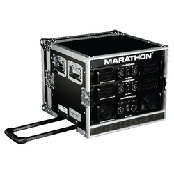MARATHON FLIGHT ROAD MA-8UADHW 8U AMPLIFIER DELUXE CASE