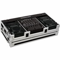 """MARATHON FLIGHT ROAD MA-CDI12W � CASE FOR 2 X AMERICAN AUDIO CDI PLAYERS + 12"""" MIXERS WITH WHEELS"""