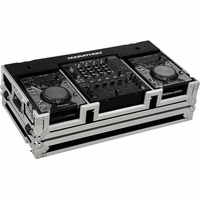 """MARATHON FLIGHT ROAD MA-CDJ12W � COFFIN TO HOLD ANY COMPACT SIZE CD PLAYER AND A 12"""" MIXER"""