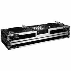 MARATHON FLIGHT ROAD MA-DJ10W HOLDS 2 TURNTABLES STANDARD STYLE POSITION