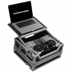 MARATHON� MA-4MXLT Case to hold 1 x Hercules 4MX Digital Music Controller plus Laptop Shelf