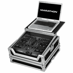 MARATHON� MA-XONEDXLT Case to hold 1 x Allen & Heath Xone DX Music Controller plus Laptop Shelf