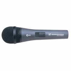 SENNHEISER E825-S Handheld cardioid dynamic with on/off switch and MZQ800 clip