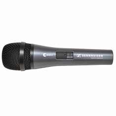 SENNHEISER E835-S Handheld cardioid dynamic with on/off switch and MZQ800 clip