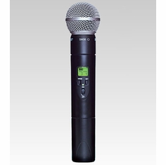 SHURE ULX2/58-M1 Handheld Wireless Microphone Transmitter w/ an interchangeable SM58 Microphone Cartridge