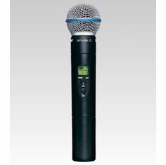 SHURE ULX2/BETA58-M1 Handheld Wireless Microphone Transmitter w/ an interchangeable BETA 58A Microphone Cartridge