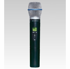 SHURE ULX2/BETA87A-M1 Handheld Wireless Microphone Transmitter w/ an interchangeable BETA 87A Microphone Cartridge