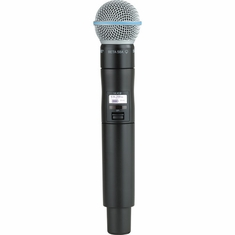SHURE ULXD2/B58-L50 Handheld Transmitter with Beta 58A Microphone Capsule