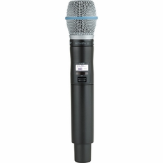 SHURE ULXD2/B87A-G50 Handheld Transmitter with Beta 87A Microphone Capsule