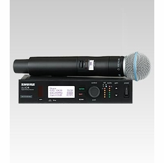SHURE ULXD24/B58-H50 Handheld Wireless System features BETA 58A Handheld Microphone