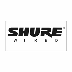 SHURE - WIRED
