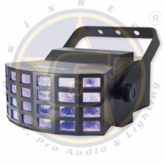 SIX STAR LED Array Tri LED Mini Derby 9w x2
