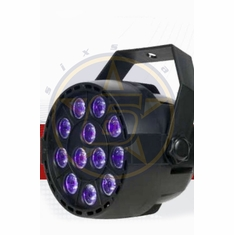 SIX STAR Mini Par UV LED 12 x 1 watt UV LED