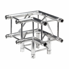 SQ-4126 3-WAY 90 DEG. CORNER - GLOBAL TRUSS / DURA TRUSS