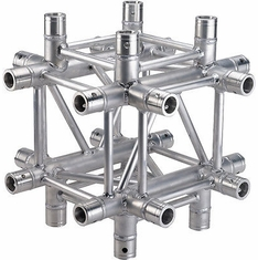 SQ-4136 6-WAY T-JUNCTION - GLOBAL TRUSS / DURA TRUSS