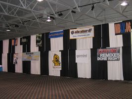Wall Banners of Participants