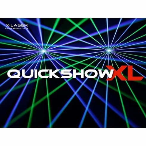 X-LASER Quickshow XL by Pangolin Quickshow upgrade to