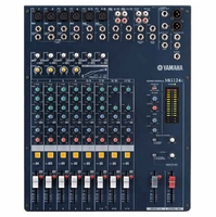 YAMAHA MG124C 12-Input, 4-Bus Mixer with 4 Channels of Single Knob Compression