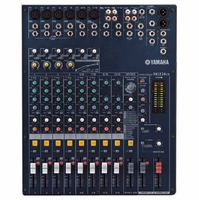 YAMAHA MG124CX 12-Input, 4-Bus Mixer with Effects, 4 Channels of Single Knob Compression