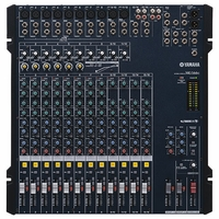 YAMAHA MG166C 6-bus format extra options for Monitoring and Live Recording.