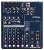 YAMAHA MG82CX 8-Input Stereo Mixer with Effects and 2 Channels of Single-Knob Compression