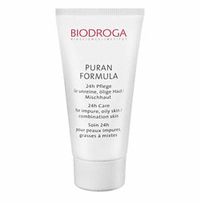 Biodroga Puran Formula 24 Hour Care for Impure Skin - Oily/Combination Skin - 1.4 oz (44035)