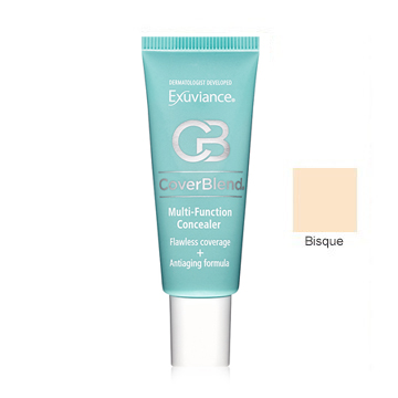 Exuviance CoverBlend Concealing Treatment Makeup SPF 30 - Bisque - 1 oz