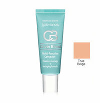 Exuviance CoverBlend Concealing Treatment Makeup SPF 30 - True Beige - 1 oz