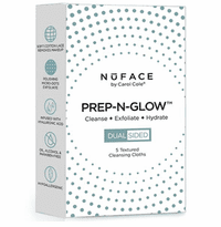 NuFace Prep-N-Glow Textured Cleansing Cloths - 5-pack