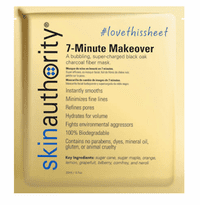 Skin Authority 7-Minute Makeover Mask - 0.7 oz