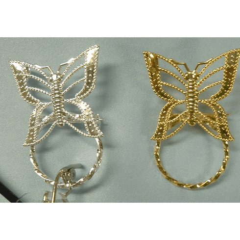 Beautiful Filigree Butterfly Spec Pin