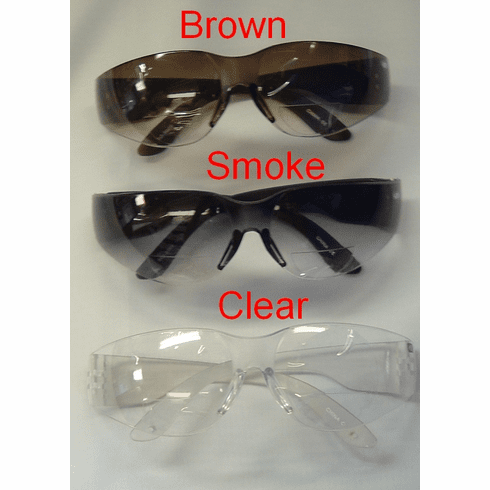 Bifocal Safety Glasses & Bifocal Safety Sunglasses