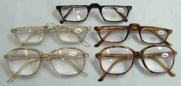 Extra Strong Reading Glasses +4.50, +5.00, +5.50, & +6.00 (6 Styles)