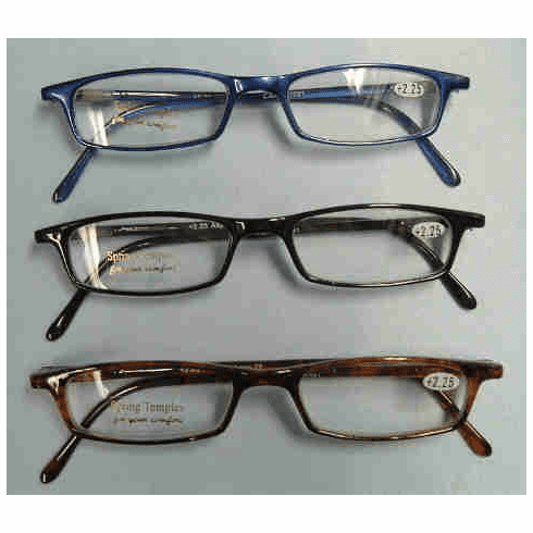 In-Style Plastic Frame Reading Glasses