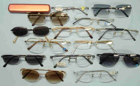 Rimless and Semi-Rimless Reading Glasses (10 Styles)