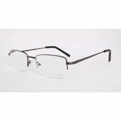 Semi-Rimless Half Reader with Spring Temples