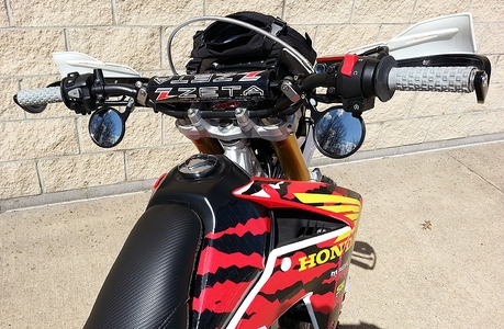 CRF250L Clamp-On Mirrors