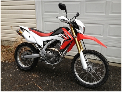CRF250L Seat Concepts Comfort Complete Seat