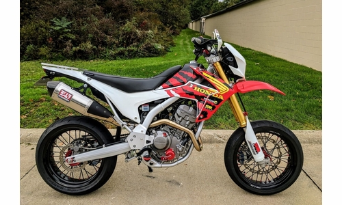 CRF250L Warp 9 Supermoto Wheels
