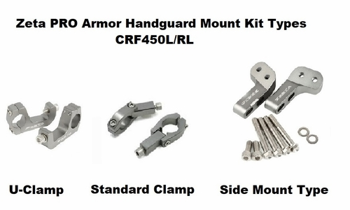 CRF450L CRF450RL Handguards - PRO Package