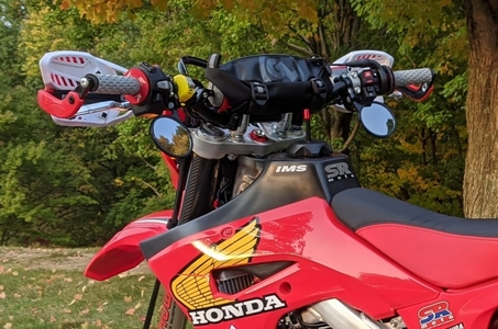 CRF450L CRF450RL Mirrors - Supermoto Street Package