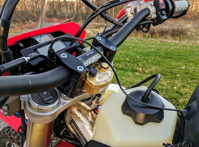 CRF450L CRF450RL Scotts Mount Kit and Steering Stabilizer