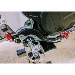 CRF450L Forged Adjustable Rear Brake Pedal by Hammerhead