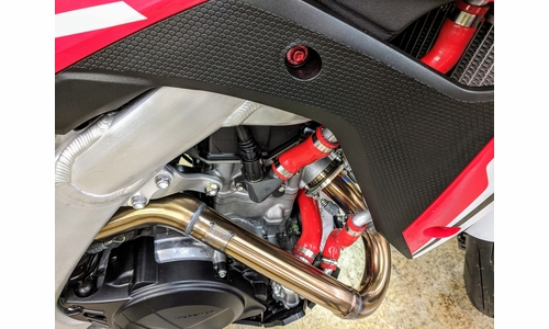 CRF450L Radiator Hose Kit by DRC